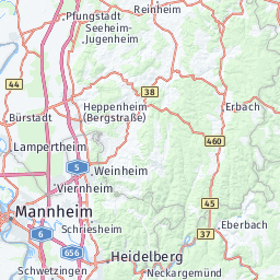 Map Of Viernheim Germany.Rhein Neckar Zentrum Here Venues